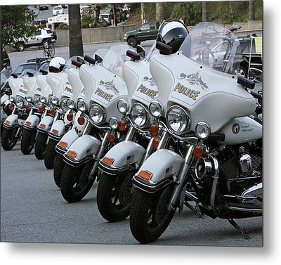 Metal Print featuring the photograph La's Finest by Shoal Hollingsworth