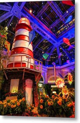 Las Vegas - Bellagio Conservatory And Botanical Gardens 003 Metal Print by Lance Vaughn