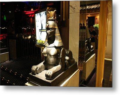 Las Vegas - Caesars Palace - 121220 Metal Print by DC Photographer