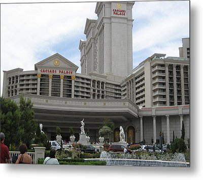 Las Vegas - Caesars Palace - 12125 Metal Print by DC Photographer