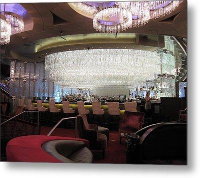 Las Vegas - Cosmopolitan Casino - 12123 Metal Print by DC Photographer