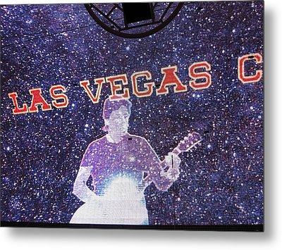 Las Vegas - Fremont Street Experience - 121214 Metal Print by DC Photographer