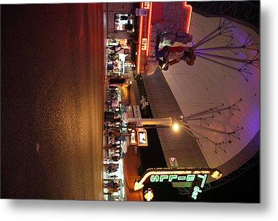 Las Vegas - Fremont Street Experience - 121223 Metal Print by DC Photographer