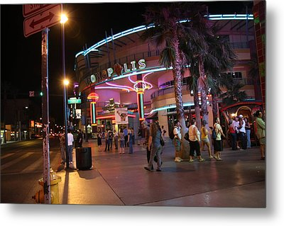Las Vegas - Fremont Street Experience - 121224 Metal Print by DC Photographer
