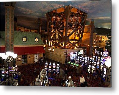 Las Vegas - Paris Casino - 01131 Metal Print