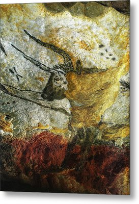 Metal Print featuring the photograph Lascaux II Number 3 - Vertical by Jacqueline M Lewis