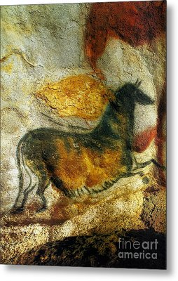 Metal Print featuring the photograph Lascaux II Number 4 - Vertical by Jacqueline M Lewis