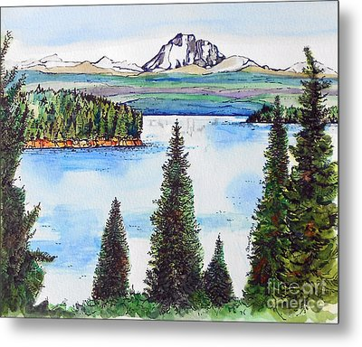 Lassen And Almanor Metal Print