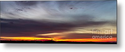 Last 2012 Sunrise Panoramic Metal Print