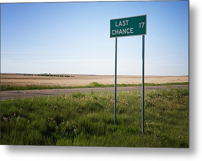 Last Chance Colorado Metal Print by Mary Lee Dereske
