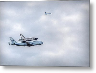 Metal Print featuring the photograph Last Flight by Michael Donahue