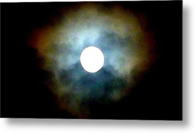 Last Full Cold Moon December 2012 Metal Print by Susan Garren