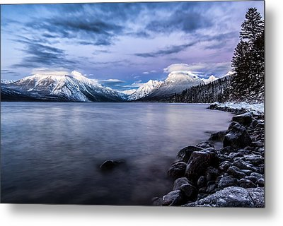 Metal Print featuring the photograph Last Light by Aaron Aldrich