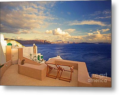 Last Light Metal Print by Aiolos Greek Collections