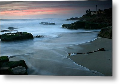 Last Light At Windansea Beach Metal Print