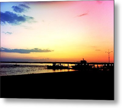 Metal Print featuring the photograph Last Light by Denyse Duhaime