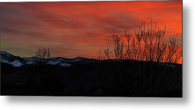 Metal Print featuring the photograph Last Light by Nancy Marie Ricketts