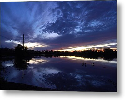 Metal Print featuring the photograph Last Light by Tam Ryan