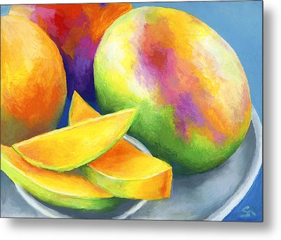 Last Mango In Paris Metal Print by Stephen Anderson
