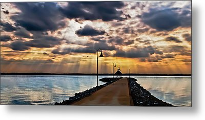 Metal Print featuring the photograph Last Rays by Greg Jackson