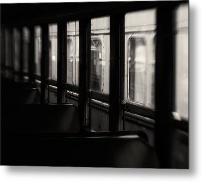 Last Stop Metal Print by Amy Weiss
