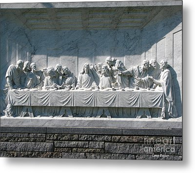 Metal Print featuring the photograph Last Supper by Greg Patzer