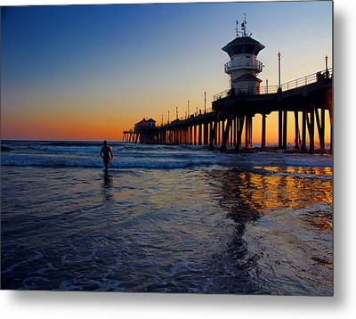 Last Wave Metal Print by Tammy Espino
