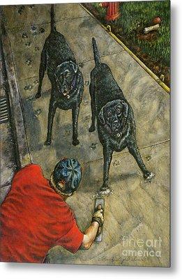 Lasting Impressions Metal Print by Linda Simon