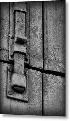 Latched Metal Print
