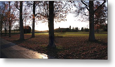 Late Afternoon At Gethsemani Metal Print by Marian Bell