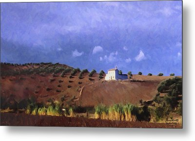 Late Afternoon Cordoba Metal Print by Spyder Webb