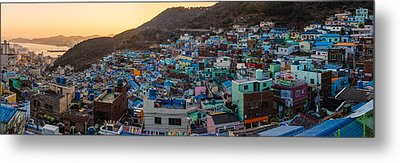 Late Afternoon In Gamcheon Metal Print
