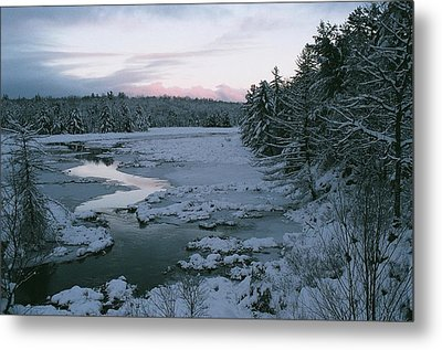 Metal Print featuring the photograph Late Afternoon In Winter by David Porteus
