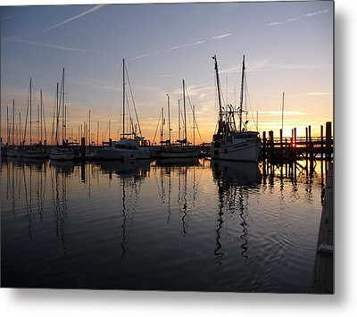 Metal Print featuring the photograph Late Afternoon St. Marys Ga by Joel Deutsch