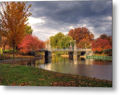 Late Autumn Metal Print