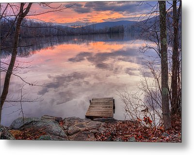 Late Fall Early Winter Metal Print by Bill Wakeley