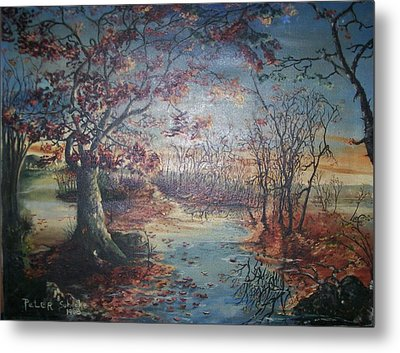 Late Fall Metal Print
