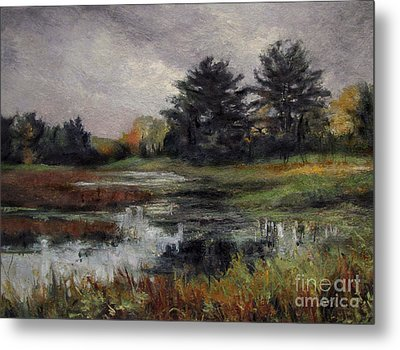 Late November Storm Metal Print by Gregory Arnett