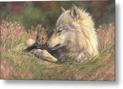 Late Spring Metal Print by Lucie Bilodeau
