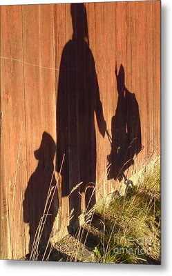 Metal Print featuring the photograph Late Summer Walk by Martin Howard
