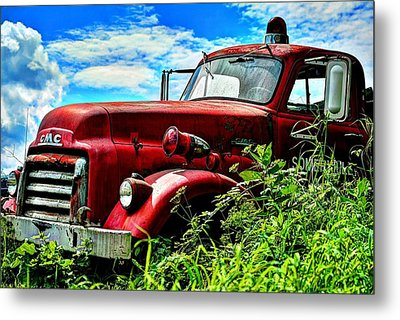 Late To The Fire Metal Print by John Nielsen