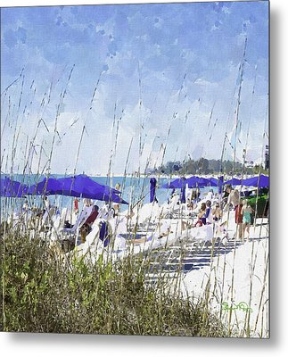 Late Winter Early Spring When Everybody Goes To Florida Metal Print