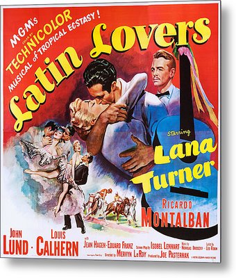 Latin Lovers, Us Poster Art Metal Print by Everett