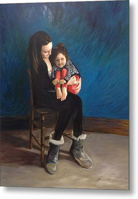 Laura And Natalie Metal Print