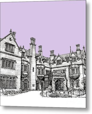 Laurel Hall In Lilac Metal Print