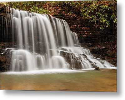 Laurel Run Falls Tn Metal Print