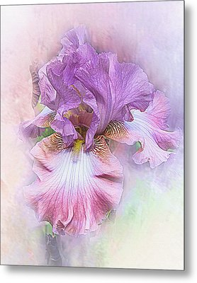 Metal Print featuring the digital art Lavendar Dreams by Mary Almond