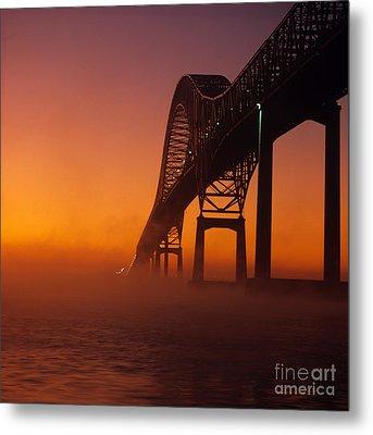Laviolette Bridge Metal Print by Publiphoto