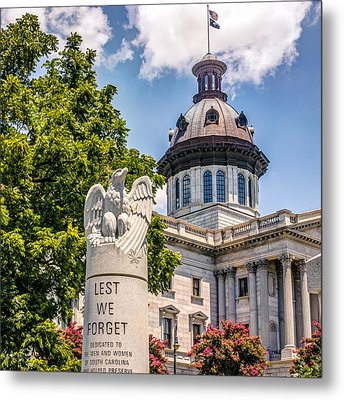 Metal Print featuring the photograph Law Enforcement Memorial by Rob Sellers