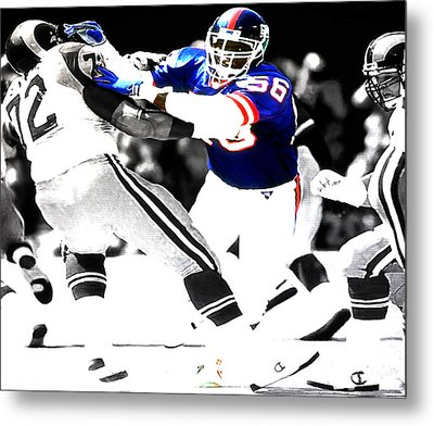 Lawrence Taylor Out Of My Way Metal Print